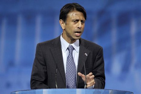 Louisiana Governor Bobby Jindal (R-LA) speaks to the Conservative Political Action Conference (CPAC) in National Harbor, Maryland, March 15,