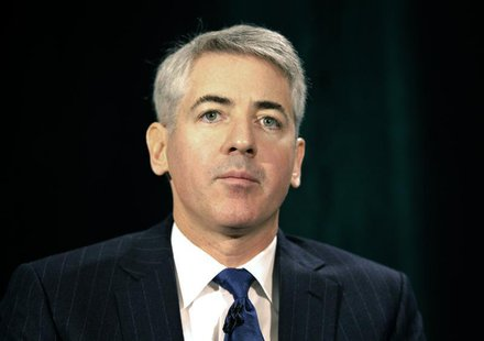 Activist shareholder William Ackman of Pershing Square Capital Management speaks during the Canadian Pacific Railway Ltd. shareholders and a