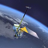 The satellite program known as National Polar-orbiting Operational Environmental Satellite System, or NPOESS, in an undated photo. REUTERS/N