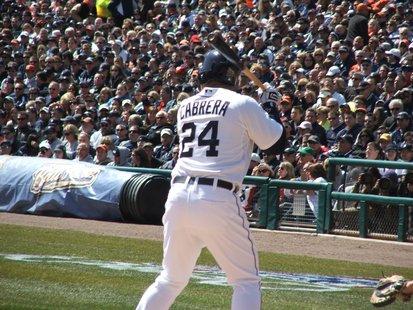 Detroit Tigers first baseman Miguel Cabrera.