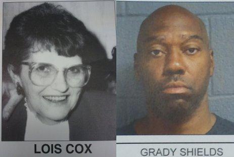 Lois Cox and Grady Shields