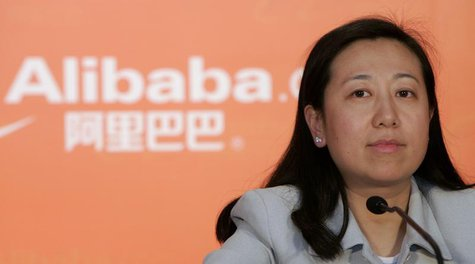 Alibaba.com Chief Financial Officer Maggie Wu attends the company's 2007 annual results news conference in Hong Kong March 18, 2008. REUTERS