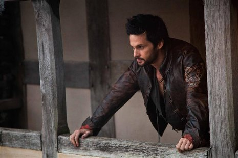 "Actor Tom Riley portrays inventor Leonard Da Vinci in a scene from the Starz cable channels new series ""Da Vinci's Demons"" in this undated p"