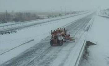 SD DOT plow on I-90 - KELO file photo