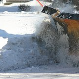 Snow plow - Flickr photo by csnider24