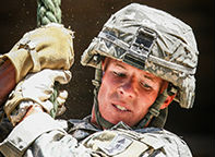 1st Lt. Nicholas Plocar, Wisconsin Army National Guard.  Photo courtesy Army National Guard