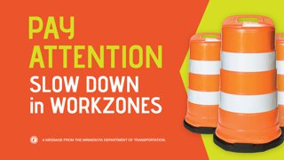 slow down in work zones