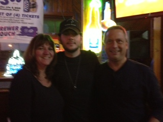 Jeff and Diane Heinz with Jeremy McComb