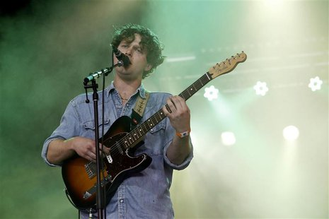 Joe Newman of British band Alt-J performs during the Coachella Music Festival in Indio, California April 12, 2013. REUTERS/Mario Anzuoni