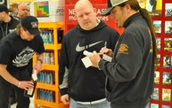 Jesse James Dupree American Outlaw Bourbon signing 11