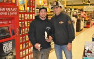 Jesse James Dupree American Outlaw Bourbon signing 12