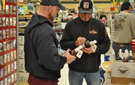 Jesse James Dupree American Outlaw Bourbon signing 22