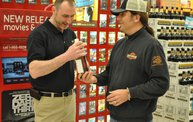 Jesse James Dupree American Outlaw Bourbon signing 17