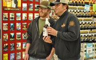 Jesse James Dupree American Outlaw Bourbon signing 3