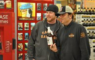 Jesse James Dupree American Outlaw Bourbon signing 2
