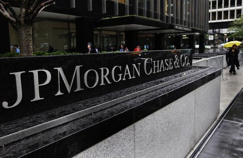 The entrance to JPMorgan Chase's international headquarters on Park Avenue is seen in New York October 2, 2012. REUTERS/Shannon Stapleton