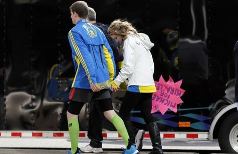 Boston Marathon bombing  photo: REUTERS