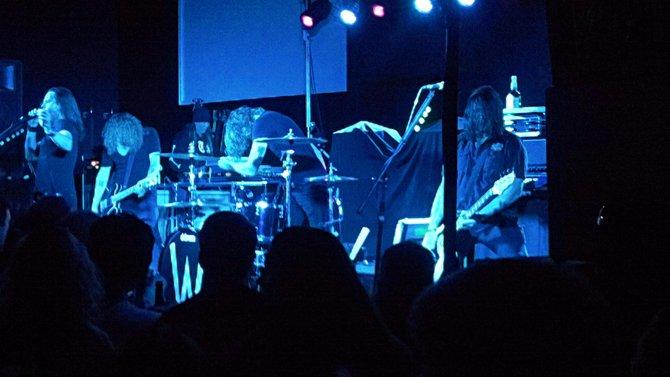 Wayland.  L-R:  Mitch, Phil, Tyler & Dean.