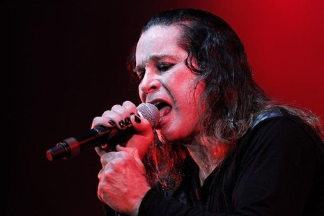 Rock musician Ozzy Osbourne performs during a concert in Brasilia April 5, 2011. Osbourne is on his Scream Tour South America/Europe 2011. R