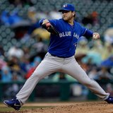 Toronto Blue Jays LHP Mark Buehrle in action at Detroit's Comerica Park against the Tigers (photo courtesy Toronto Blue Jays)
