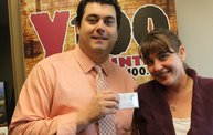 The Y100 $10,000 Dream Diamond is Revealed to Bear & Charli 6