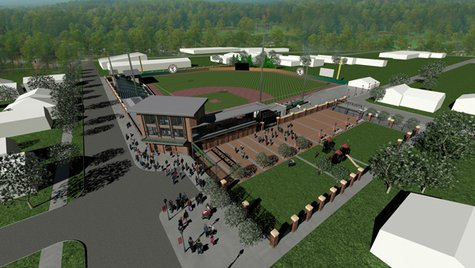 Proposed Athletic Park grandstand improvements