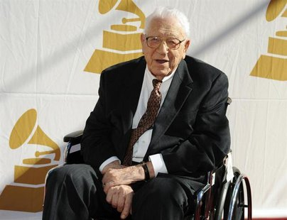Lifetime achievement award recipient George Beverly Shea attends the Recording Academy Special Merit Awards Ceremony in Los Angeles February