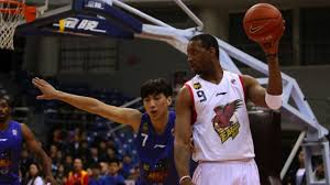 Tracy McGrady while playing for the Qingdao Eagles in the Chinese Basketball Association.