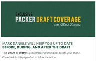 Exclusive Packers Draft Coverage With Mark Daniels 21