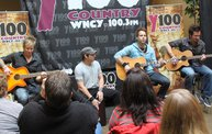 Subway Fresh Faces of Country @ Y100 :: Meet Parmalee 11