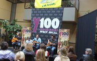 Subway Fresh Faces of Country @ Y100 :: Meet Parmalee 22