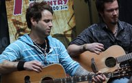 Subway Fresh Faces of Country @ Y100 :: Meet Parmalee 7