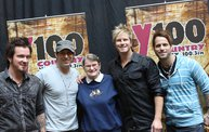Subway Fresh Faces of Country @ Y100 :: Meet Parmalee 1