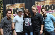 Subway Fresh Faces of Country @ Y100 :: Meet Parmalee 29