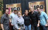 Subway Fresh Faces of Country @ Y100 :: Meet Parmalee 28