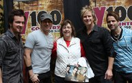 Subway Fresh Faces of Country @ Y100 :: Meet Parmalee 14
