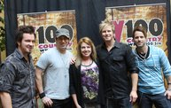 Subway Fresh Faces of Country @ Y100 :: Meet Parmalee 10