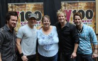Subway Fresh Faces of Country @ Y100 :: Meet Parmalee 6