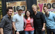 Subway Fresh Faces of Country @ Y100 :: Meet Parmalee 5
