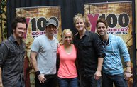 Subway Fresh Faces of Country @ Y100 :: Meet Parmalee 4
