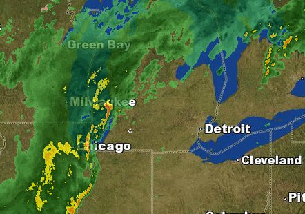 SEVERE WEATHER ALERT: Tornado Watch in effect until 6pm for Michigan counties
