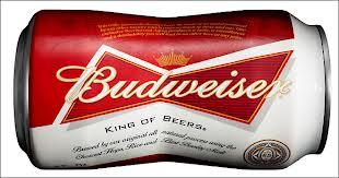 New Budweiser Beer Can