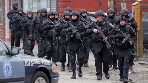 SWAT team in Boston