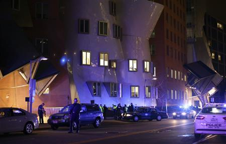 Scene of fatal shooting at MIT campus in Cambridge, Massachusetts