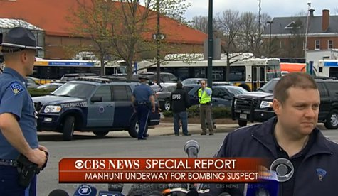 LIVE Press conference on latest in Boston Marathon bombing manhunt