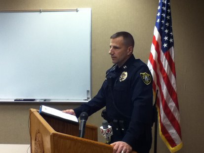 Wausau Police Captain Bryan Hilts