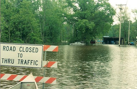 Flooding in Barry County