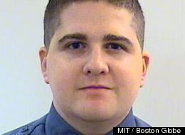 Sean Collier fatally wounded in shooting with Boston Marathon bombing suspects Image Courtesy: Boston Globe