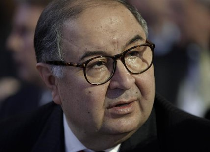Russia's richest man Alisher Usmanov attends the annual meeting of the World Economic Forum (WEF) in Davos January 23, 2013. REUTERS/Denis B
