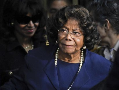 Michael Jackson's mother Katherine Jackson leaves the sentencing hearing of Dr. Conrad Murray, who was convicted of involuntary manslaughter